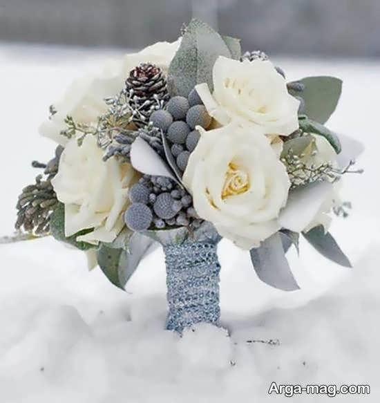 ایده هایی بینظیر و لاکچری از تزیینات دسته گل عروس