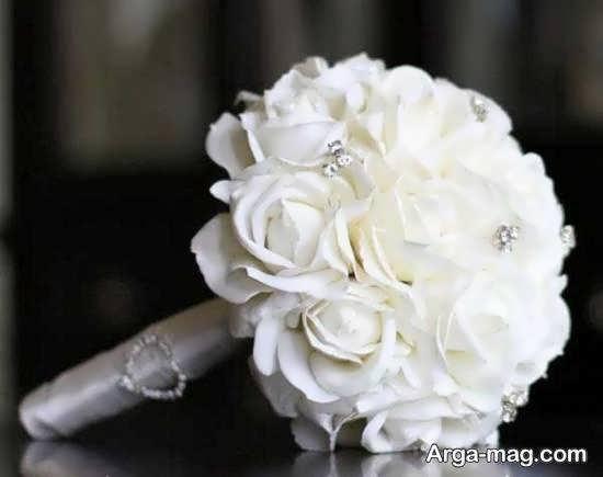 ایده های زیبا و جدید برای زیباسازی دسته گل عروس