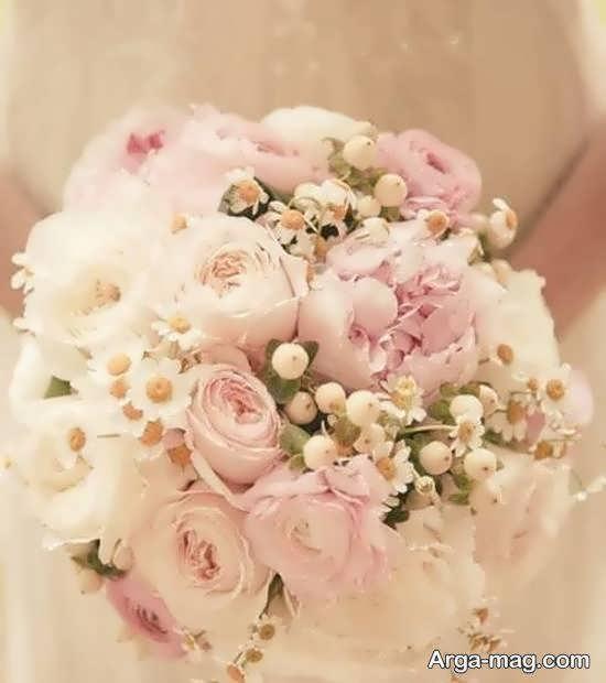 گالری شیک و بینظیری از تزیین دسته گل عروس
