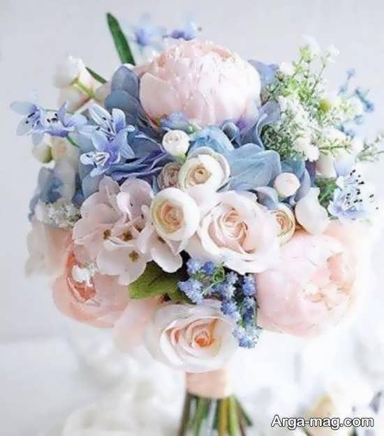 تزیین دسته گل عروس در طرح و شکل های مختلف