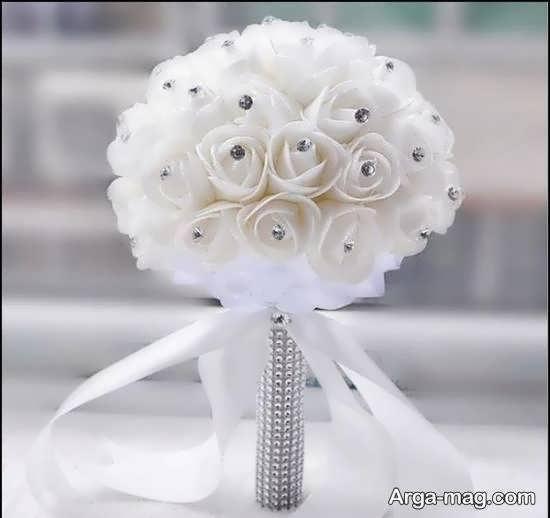 ایده هایی زیبا و شیک از تزیین دسته گل عروس