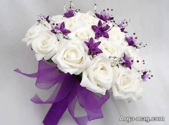 انواع نمونه های زیبا و جذاب تزیینات دسته گل عروس