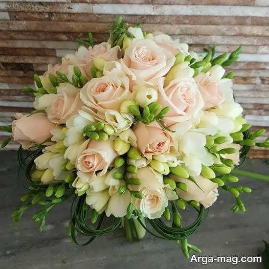 ایده هایی بینظیر و زیبا از تزیین دسته گل عروس