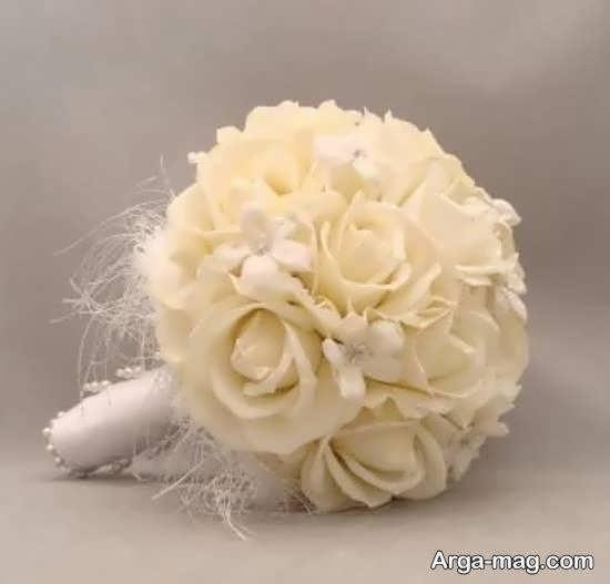 کلکسیونی زیبا و جدید از تزیین دسته گل عروس