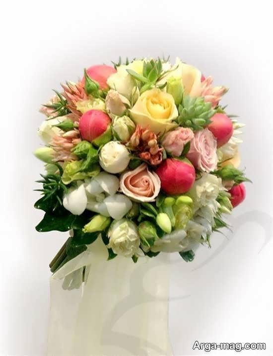 گالری زیبایی از تزیینات دسته گل عروس