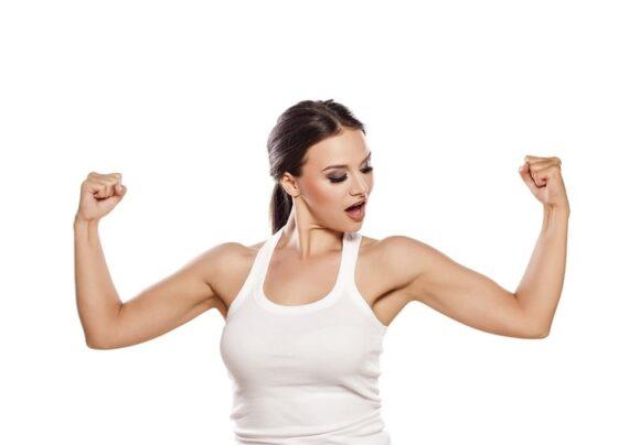 تمرین جلو بازو بدون استفاده ازوزنه