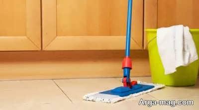 نحوه تمیز کردن سرامیک