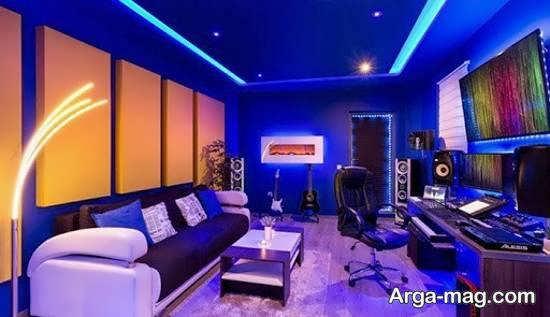 ایده هایی خارق العاده برای نورپردازی اتاق گیم