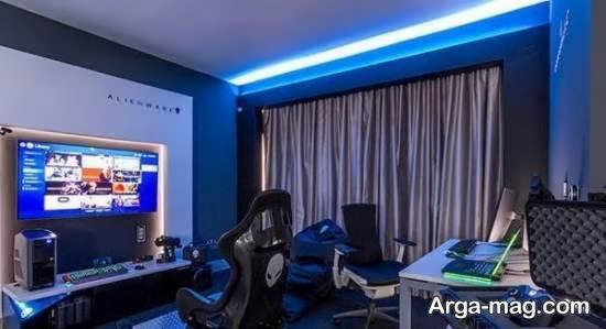 نمونه هایی بینظیر و جذاب از نورپردازی اتاق گیمینگ