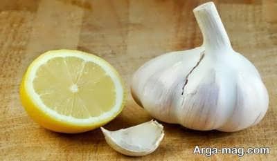 معجون کاهش وزن با لیمو و سیر