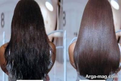 ماسک ژلاتین و شیر برای درخشاندگی مو