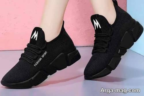 کفش زیبا و مشکی دخترانه