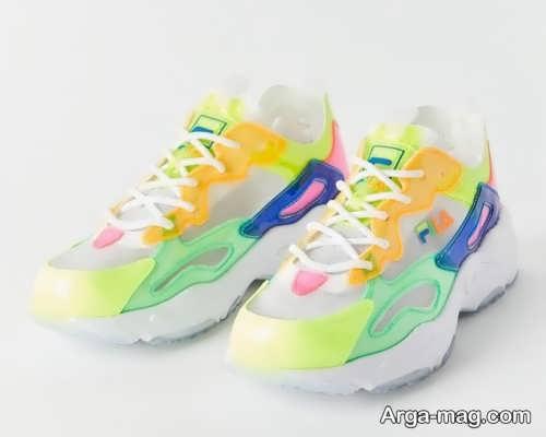 کفش رنگی دخترانه