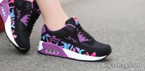 کفش طرح دار دخترانه