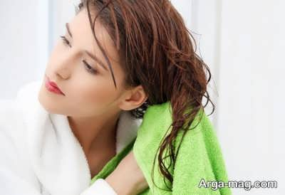 تاثیر خشک کردن مو با حوله به روی مو به چه صورت است؟