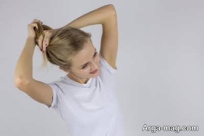 تاثیر محکم بستن مو با کش سر