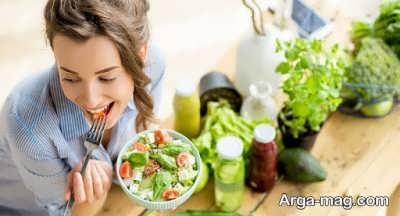 تاثیر پیروی از تغذیه مناسب در سلامت مو