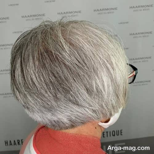 مدل مو زیبا برای خانم های مسن