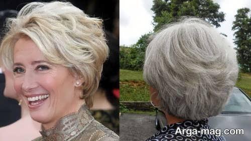 مدل مو خاص برای خانم های میانسال