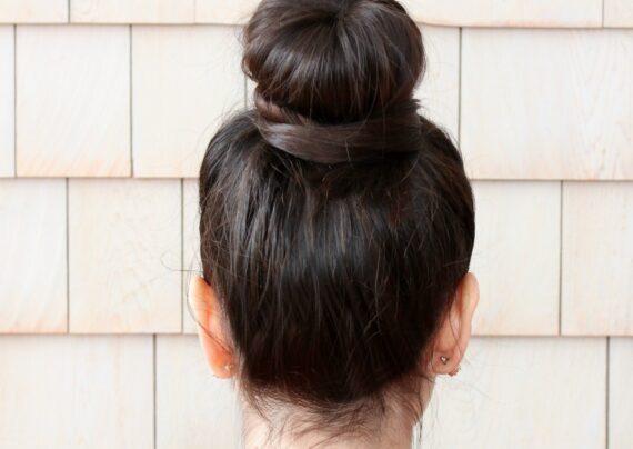 بستن مو بالای سر