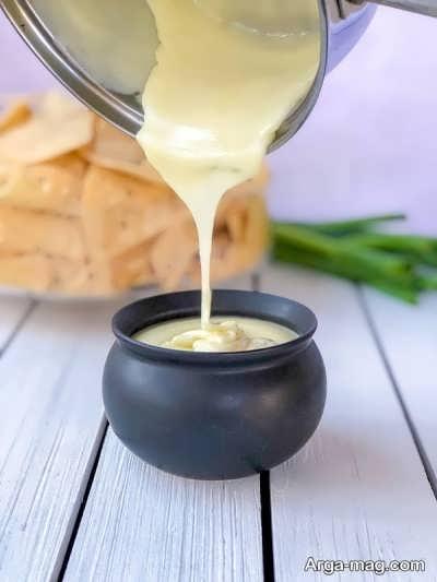 آموزش طرز تهیه سس پنیری مخصوص