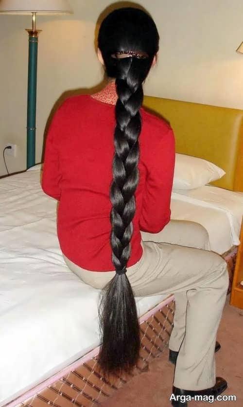 بافت موی هندی