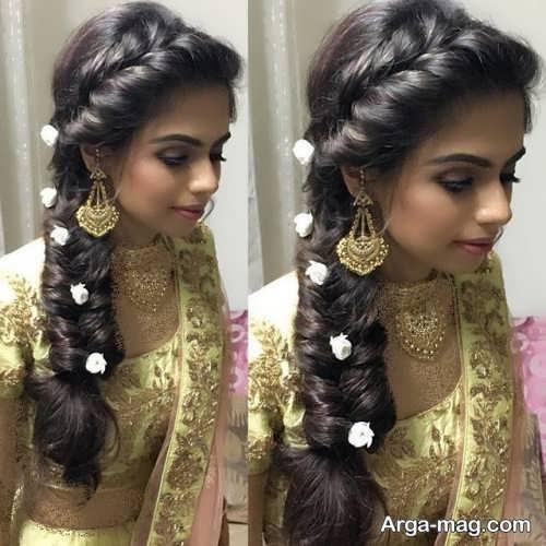 بافت موی شیک هندی