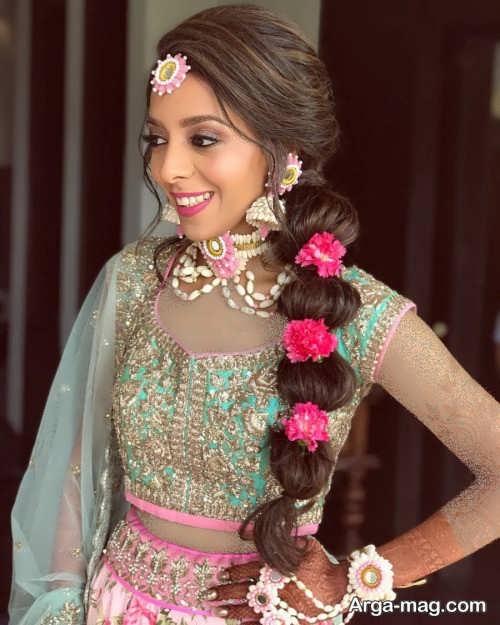 بافت مو زیبا هندی