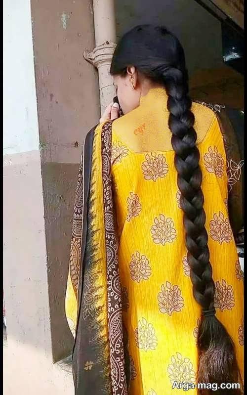 مدل بافت موی هندی ساده
