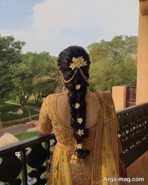 مدل بافت مو هندی زنانه