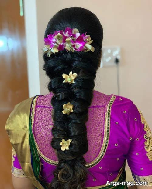 بافت مو شیک هندی