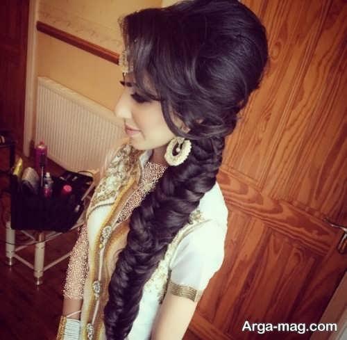 بافت مو زنانه هندی