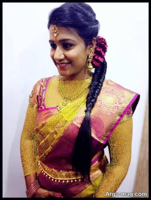 بافت موی زیبا هندی