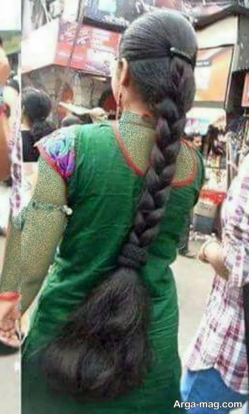 بافت موی زنانه هندی