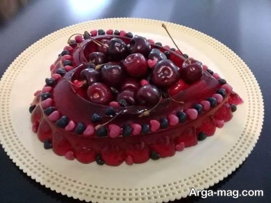 نمونه جالبژله با استفاده از میوه