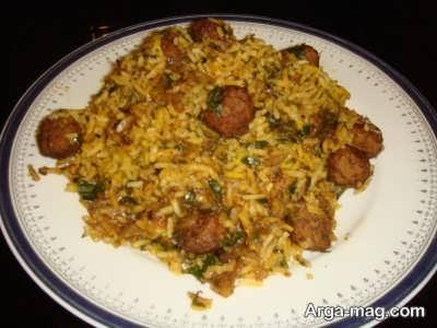 دستور تهیه برنج کرمانی