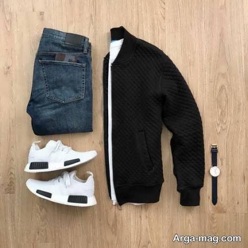 ست لباس مردانه پاییزی