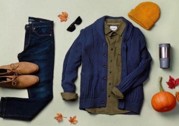 ست لباس پاییزی مردانه