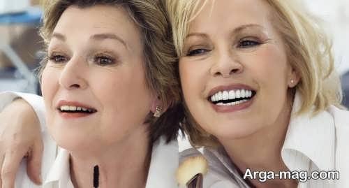 آرایش صورت زیبا و حرفه ای برای خانم های میانسال