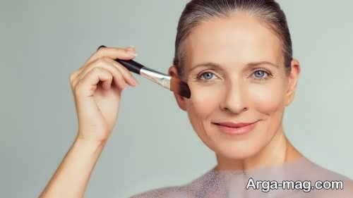 آرایش برای خانم های مسن