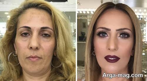 آرایش خانم های میانسال