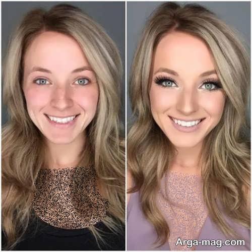 آرایش زیبا برای خانم های میانسال