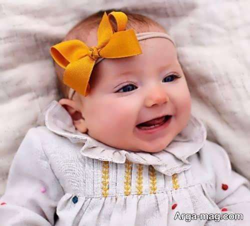 هدبند ساده برای نوزاد
