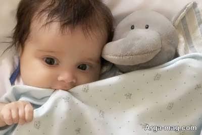 میزان دمای طبیعی بدن نوزاد