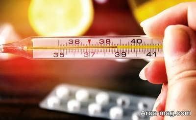 دمای طبیعی و عادی بدن کودک