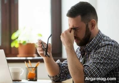 خستگی چشم و جلوگیری از آن