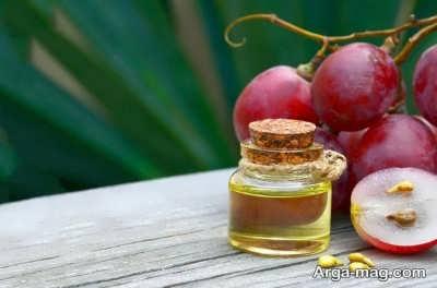 انواع خواص روغن هسته انگور