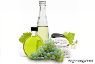 انواع خاصیت روغن هسته انگور