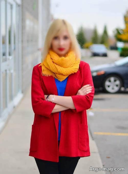 ست قرمز زنانه
