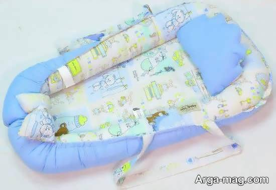 آموزش روش دوخت تشک لبه دار برای نوزاد